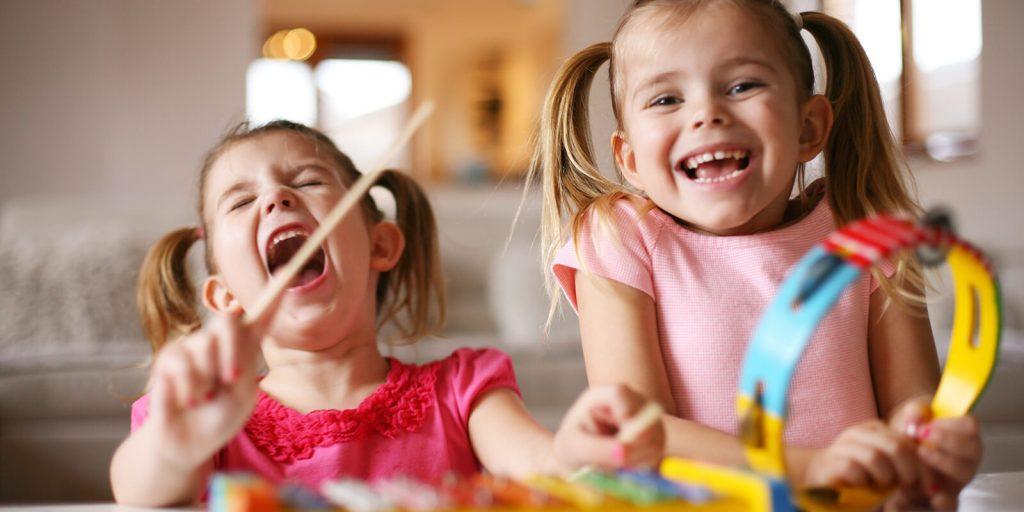 Children love music